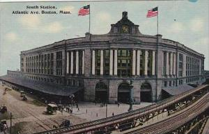 Massachusetts Boston South Railroad Station