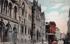 EXETER DEVON UK THE MUSEUM SHOWING FIRE OFFICE POSTCARD