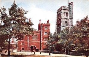 Lambeth Palace United Kingdom, Great Britain, England Unused
