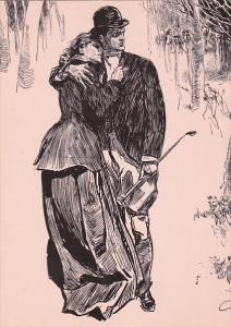 The Highwayman by Charles Dana Gibson