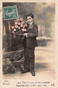 Cute Boy, Les Fleurs que je vous envoie, Sauront bien parler pour moi. Paris