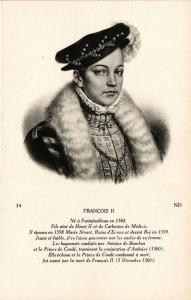 CPA Francois II Royalty Nobelty (314312)