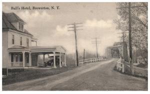 New York  Brewerton  Ball's Hotel  view  of bridge,