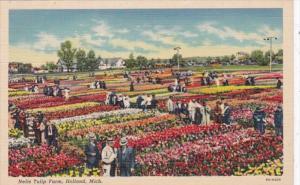 Michigan Holland Nelis Tulip Fields Curteich