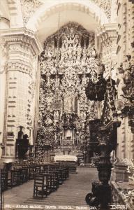 RP; TAXCO, Guerrero, Mexico, Altar Mayor, Santa Prisca, 30-50s