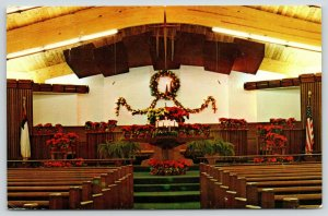 Bradenton FL~Christmas Decorations~Christ United Methodist Church~Dynacolor~1981