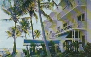 Florida Palm Beach The MOnte Cristo Hotel 1957
