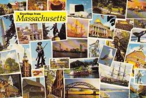 Massachusetts Greetings From Massachusetts U S A