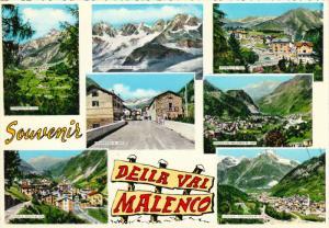 7 View, Souvenir della vai Malenco, Lombardy, Italy, 50´s-70´s