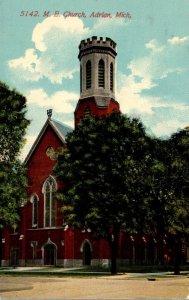 Michigan Adrian Methodist Episcopal Church 1912