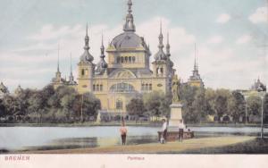 Bremen Parkhaus Old German Postcard