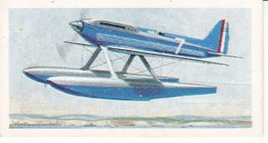 Trade Cards Brooke Bond Tea Transport Through The Ages No 39 Supermarine Plane
