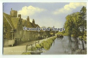 tp9297 - Berks -  Weaver's Cottages by the River Kennet, at Newbury - Postcard