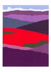 Postcard Art REJOICE YE VALES & MOUNTAINS, YE OCEANS CLAP YOUR HANDS S.M Kinread