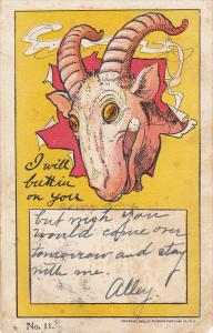 Goat Head , I will butt in on you , PU-1906