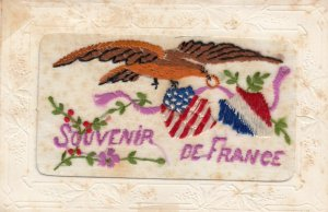 Embroidered 1914-18 ; Souvenir de France : #2
