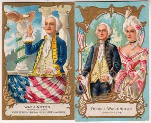 2 - George Washington, Cards