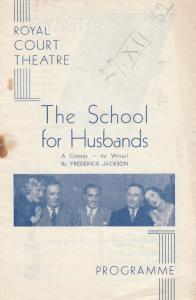 School For Husbands Cyril Raymond Wuthering Heights Comedy London Theatre Pro...