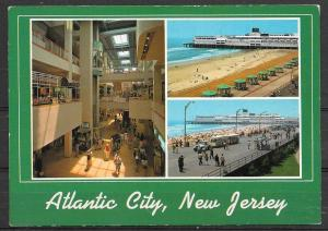 New Jersey, Atlantic City, multiview, unused