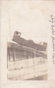 Panama Electric Ship Puller Panama Canal Real Photo