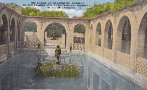 The Loggia At Brookgreen Gardens, On The Famous New York To Miamia Highway In...