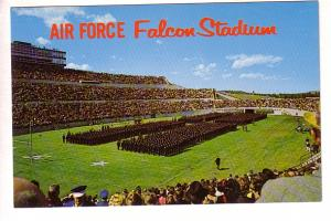 Cadet Wing, Playing Field, Falcon Stadium, US Air Force Academy, Colorado, Ro...