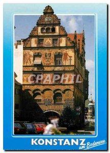 Modern Postcard Graf Zeppelinhaus Konstanz am Bodensee