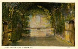 FL - St Augustine, Fort Marion Chapel