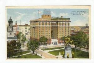 Hotel Richmond, Richmond, Virginia, PU-1916