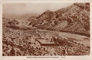 Khyber Pass Pakistan For Ali Musjid Real Photo Vintage Postcard AA22245