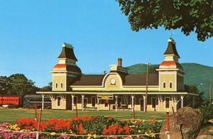NH - North Conway, Victorian Railroad Station, Conway Scenic Railroad
