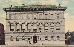 NEWARK, New Jersey; Public Library, PU-1915