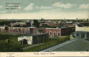 argentina, VILLA CONSTITUCIÓN, Santa Fé, Vista Hacia el Este (1910s)