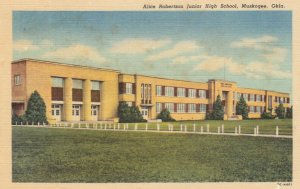 MUSKOGEE , Oklahoma , 1930-40s ; Alice Robertson Junior High School