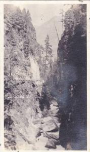 RP, Capilano Bridge, British Columbia, Canada, 1920-1940s