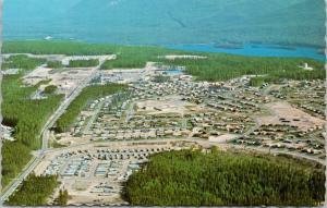 Mackenzie BC British Columbia Aerial View UNUSED Vintage Postcard D89