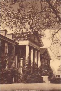Pennsylvania Gettysburg Breidenbaugh Science Hall Gettysburg College Artvue
