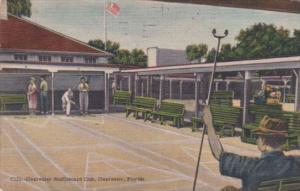 Shuffleboard Courts Clearwater Shuffleboard Club Clearwater Florida 1951