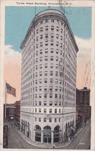 Rhode Island Providence Turks Head Building 1920