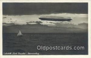 Luftschiff Graf Zeppelin Schweizerflug  Postcard Post Card, Carte Postale, Ca...