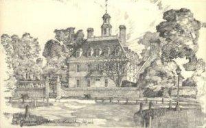 Governors Palace - Williamsburg, Virginia