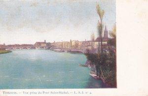 TOULOUSE, Haute Garonne, France, 1900-10s; Vue prise du Pont Saint-Michel