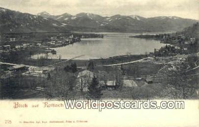 Blick auf Rottach Tegernsee Germany Unused