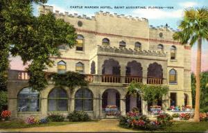 Florida St Augustine Castle Warden Hotel