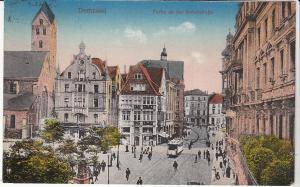 Dorttmund Bruckstr. 1930 Bahnpost Cancel
