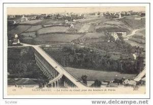 SAINT BRIEUC, France, 00-10s  La Vallee du Gouet prise des haurs de Plerin