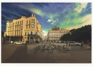 Hotel Habana Prado Y Neptuno Havana at Night 2008 Award Postcard