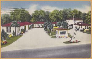 St. Augustine, FLA., Mayflower Courts - 1954