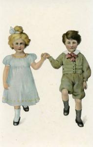 Little Girl and Boy