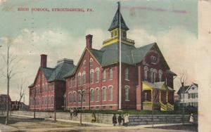 STROUDSBURG, Pennsylvania, PU-1913; High School